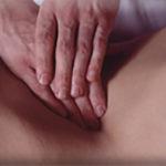 bauchmassage