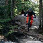 downhill mountainbiking requires high concentration
